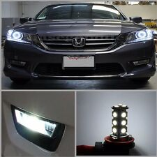 For 2015 Honda ACCORD LED Fog Lamp Light Bulb 18-SMD 9th Gen Xenon WHITE