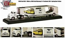 M2 MACHINES AUTO HAULERS 1956 FORD COE 1965 FORD MUSTANG 2+2 289 1:64
