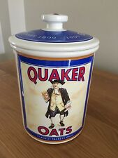 Retro Style Portmeirion Limited Edition Quaker Biscuit Barrel/Cookie/Storage Jar