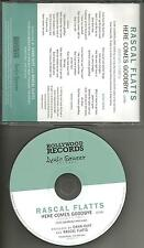 RASCAL FLATTS Here Comes Goodbye REPEATS 3 PROMO DJ CD single w/ PRINTED LYRICS