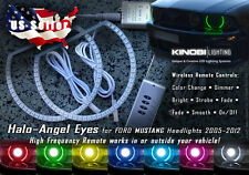 Ford Mustang MultiColor LED Halo-Angel Eyes Rings kit AND RF REMOTE Buy It