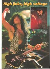 KISS Paul high jinks magazine PHOTO / mini Poster 11x8 inches