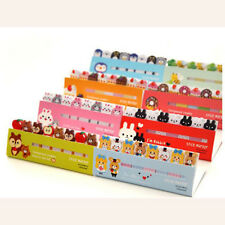 2PCS 120Page Animal Sticker Post It Bookmark Marker Memo Index Tabs Sticky Notes