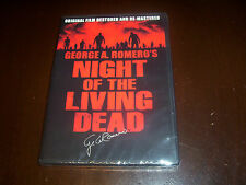 Night of the Living Dead 40th Anniversary NEW DVD Original George Romero Horror