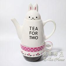Bunny Tea Set - Lovely Rabbit Tea Pot & Tea Cup Set