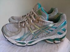 ASICS Gel Kayano 17 running shoes, Duomax, women's size 8 US