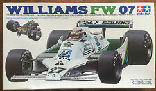 Tamiya 20014 Williams FW-07 1/20 Formula 1 Car Model Kit NIB