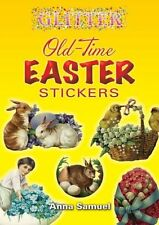 Glitter Old-Time Easter Stickers by Anna Samuel (Paperback) EBO