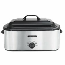 Proctor Silex 32230A - Stainless Steel Roaster Oven, 22-Quart