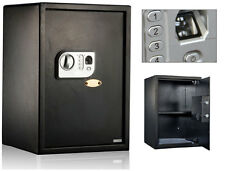 BIOMETRIC FINGERPRINT SAFE BOX COMBINATION PASSWORD LOCK GUN VAULT OFFICE HOME