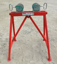 """RIDGID ADJUSTABLE ROLLER STAND 64642, AR-99, 1/2""""-36"""" MAX PIPE, 2500 LB WEIGHT"""