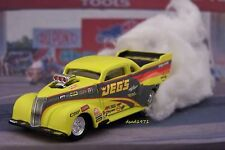JEGS DRAG RACING 1937 37 CHEVY NITRO COUPE 1/64 SCALE MODEL DIORAMA COLLECTIBLE