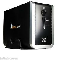 "NEW HORNETTEK DUAL BAY 3.5"" SATA I/II HDD 10TB USB 3.0/2.0 External Enclosure"