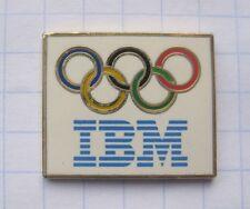 IBM / OLYMPISCHE RINGE  ...................Computer Pin (115d)