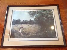 "Vintage ADOLPH SEHRING "" Summer Stream "" S/N Lithograph w/COA"