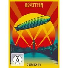 LED ZEPPELIN - CELEBRATION DAY  DVD + 2CD HARD ROCK  NEU