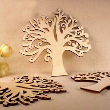 Autumn Hollow Tree Shape MDF Laser Cut Wooden Craft Blank Family Tree Decoupage