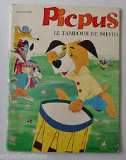 PICPUS Le Tembour de Presto French Children Story Book JACQUES GALAN 1970s -rj