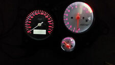 WHITE HONDA VTR1000F FIRESTORM led dash clock conversion kit lightenUPgrade