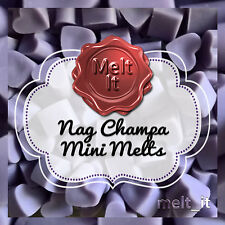 50 Nag Champa highly scented mini wax melts tarts USA scents for oil burner