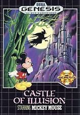 Castle of Illusion Starring Mickey Mouse Sega Genesis Game Complete CIB Tested