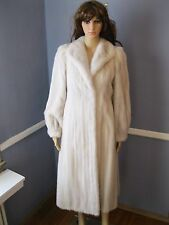 GORGOUS White MINK fur coat stroller Small jacket Excellent condition