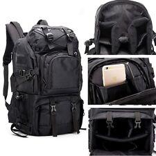 Large Theftproof Camera Camcorder Backpack DSLR SLR Laptop Travel Shoulders Bags