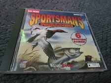 SPORTSMANS PARADISE GAME PC SOFTWARE CD ROM WINDOWS DISC CASE BOOKLET 1996