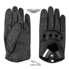Jaguar Collection New Genuine Men's Leather Driving Gloves 50JBVM180BN