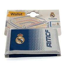 Official Football Club Crestado de Nylon Cartera Real Madrid FC FREE (UK) P + P