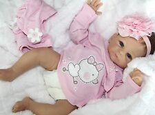 "MY ADORABLE ONE! - Newborn 17"" Collectors Life Like Baby Girl Doll + 2 Outfits"