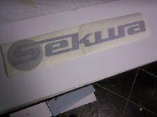 Sekura tracteur cab stickers/decals