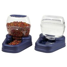 Bergan Petite Gourmet Auto Automatic Pet Dog Cat Waterer and Feeder Combo