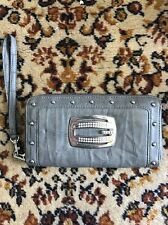 Guess Studded Clutch Purse Used Skin