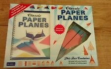 New Classic Paper Planes Modelling Kit For Ages 6+
