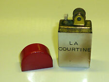 VINTAGE POCKET PETROL LACQUER LIGHTER - FEUERZEUG - DEPOSE - 1930 - FRANCE