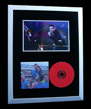 ROBBIE WILLIAMS+SIGNED+FRAMED+SING WHEN WINNING=100% AUTHENTIC+FAST GLOBAL SHIP