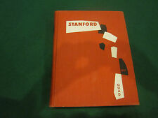 1957 Stanford University Annual Yearbook California