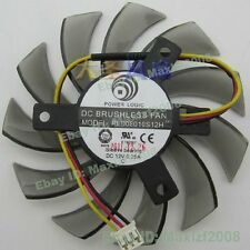 3Pin 75mm PLD08010S12H 0.25A Fan for VGA Video Card 40*40*40mm