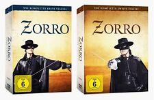 Zorro - Die komplette Serie, erste + zweite Staffel (1+2), 2x 7 DVD Set NEU+OVP!