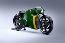 LOTUS MODEL C-01 ELECTRIC MOTORCYCLE POSTER PRINT 24x36 HIGH RES