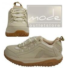 WALKMAXX Fitness Outdoor Shoes 38 Beige Round Sole Shoes Breathable 8481