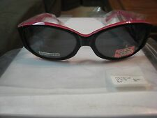 PHOEBE COUTURE Polarized Sunglasses-Women's #P405-BLACK -NWT-58-16-130  frame sz