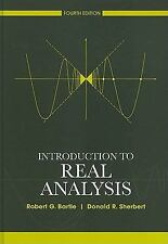 Introduction To Real Analysis - Robert G. Bartle & Donald R. Sherbert
