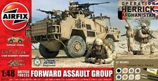 Airfix 1/48 British Forces Forward Assault Group Plastic Model Kit 50124