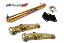 SKUNK2 Lower Control Arm+Bar Phi Fifty Gold 88-95 Honda Civic/93-97 Del Sol