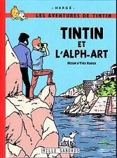 INTEGRALE RODIER HOMMAGE A HERGE TINTIN ET L'ALPH'ART ALBUM CARTONNE COULEURS