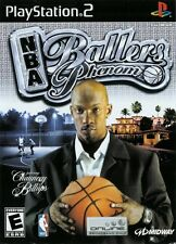 NBA Ballers Phenom PS2 Playstation 2 Game Complete