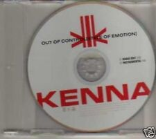 (881G) Kenna, Out Of Control (State Of Emotion) - DJ CD