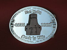 * NED KELLY SILVER BELT BUCKLE ~ BRAND NEW ~ LIMITED EDITION ~ Country & Western